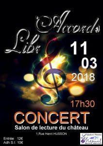 affiche concert 11 mars