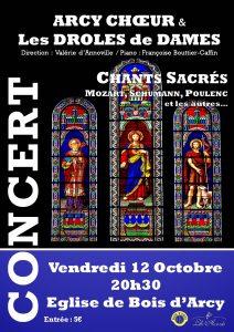 Concert Bois d'arcy 121018